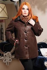 мода, куртка, кожаная