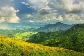View of Phu Chi Fa mountain