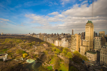 Autumn view of Central Park, Manhattan, New York