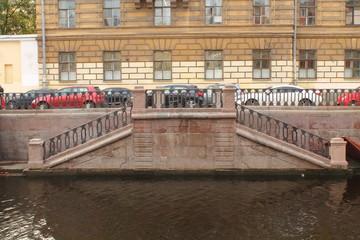 Набережная реки Мойка в Санкт-Петербурге