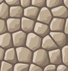Texture of stones in brown colors