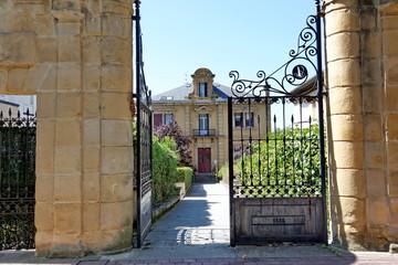 Portail de villa