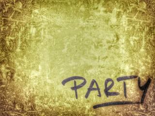 Party Einladung...