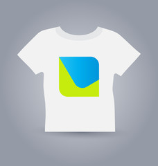 T-shirt design business icon