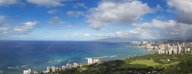 Hawaii panoramic view