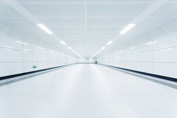 underground passge of modern city