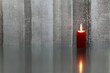 Leinwandbild Motiv Kerze