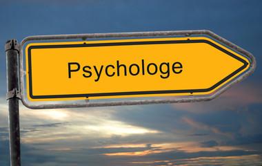 Strassenschild 19 - Psychologe