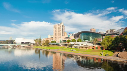 Hyperlapse video of Adelaide city, Australia