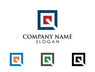 Square Logo Q