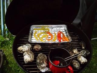 grillen mit gemüse