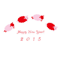 happy new year, the Chinese sheep year