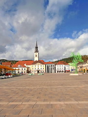 Bruck n der Mur ( Steiermark ) - Stadtpanorama