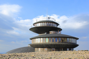 Meteorological observatory on the top of Sniezka