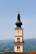 canvas print picture - Kirche - Turm
