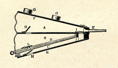 Double-acting piston bellows (blacksmiths bellows)