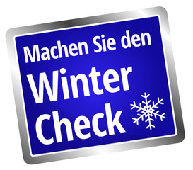 Machen Sie den Wintercheck