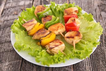 chicken barbecue kebab