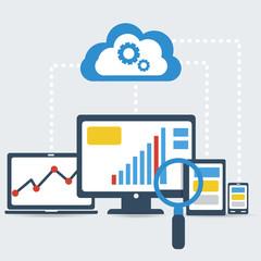 Responsive pc. SEO optimization,web analytics.