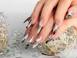Studio nail art.