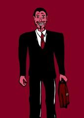 Business devil