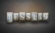 Obrazy na płótnie, fototapety, zdjęcia, fotoobrazy drukowane : Messiah Letterpress