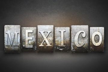 Mexico Letterpress