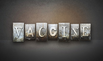 Vaccine Letterpress