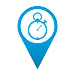 Icono localizacion cronometro