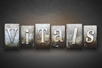 Vitals Letterpress