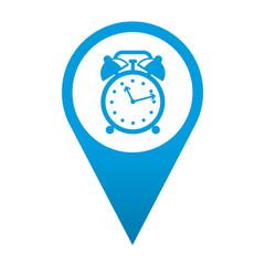 Icono localizacion simbolo despertador