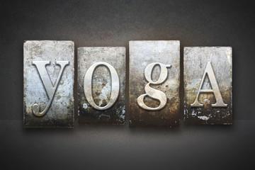 Yoga Letterpress