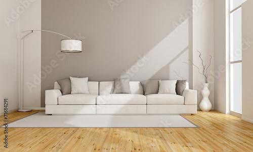 Minimalist lounge poster