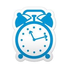 Pegatina simbolo despertador