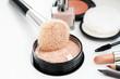 makeup cosmetics  brush powder lipstick maskara nailpolish liner