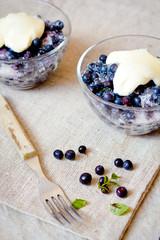 Blueberry sour cream
