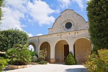 Church of SS. Maria Addolorata. Fasano. Puglia. Italy.