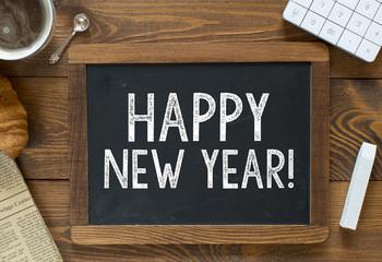 Happy New Year! handwritten