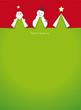 Zdjęcia na płótnie, fototapety, obrazy : christmas cards cut outs vector