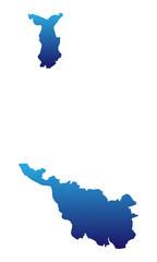 Bremen in blau