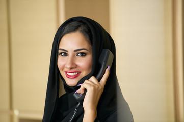 Arabian Customer service representative