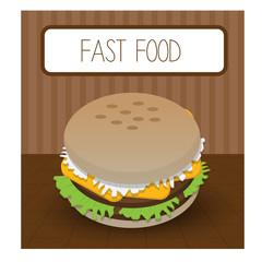 fast food menu design.