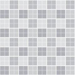 Grey Square Seamless Pattern