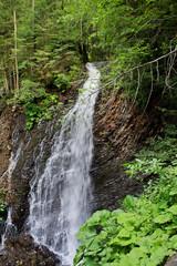falls Guk in the Carpathians, Ukraine