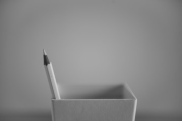 pencil in a pencil holder