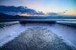 Water overflow into a spillway - 71689468