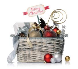 Christmas basket