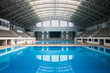 Empty swimming pool - 71690277