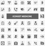 Website Iconset - Medicine 44 Basic Icons