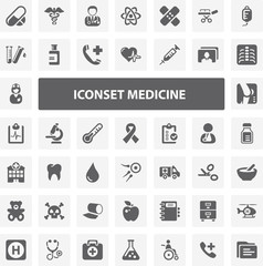 Website Iconset - Medicine 44 Basic Icons